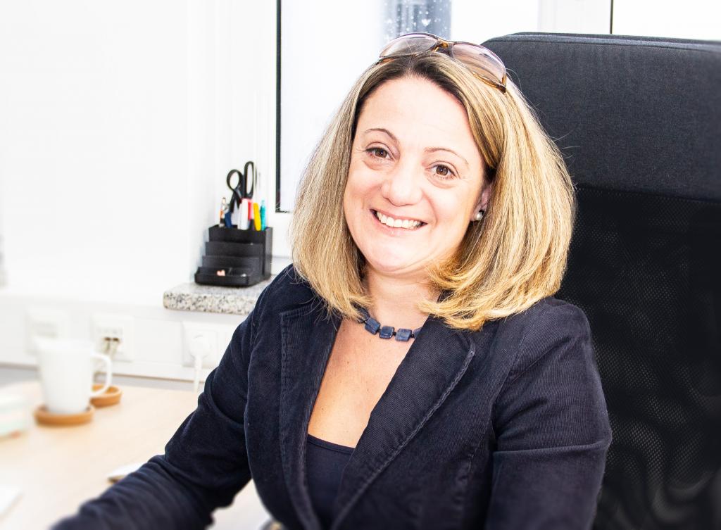 Über uns - Gründerstory Portrait Katrin Galambos-Huber