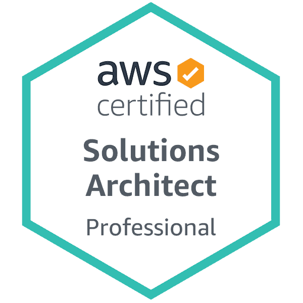 Badge AWS Solutions Architect Professional