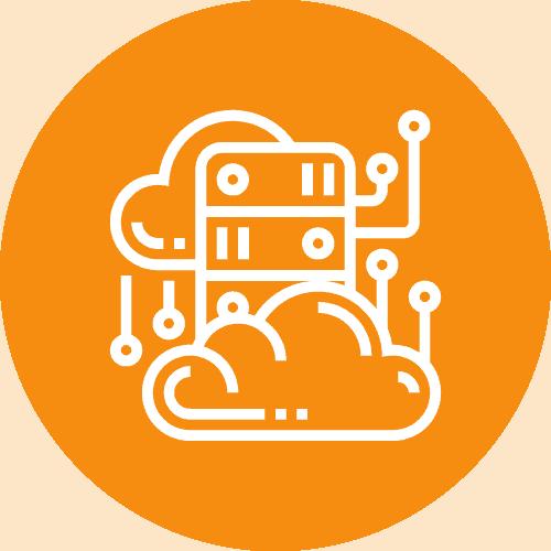 Unsere Leistungen - Icon Cloud Migration